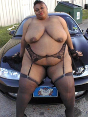 You guys want a big black women, you got all now! This is..