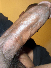 Huge black cocks in erection