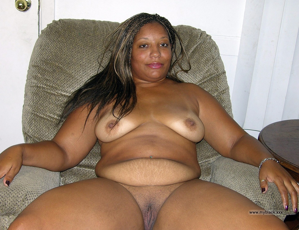 Black woman with big click