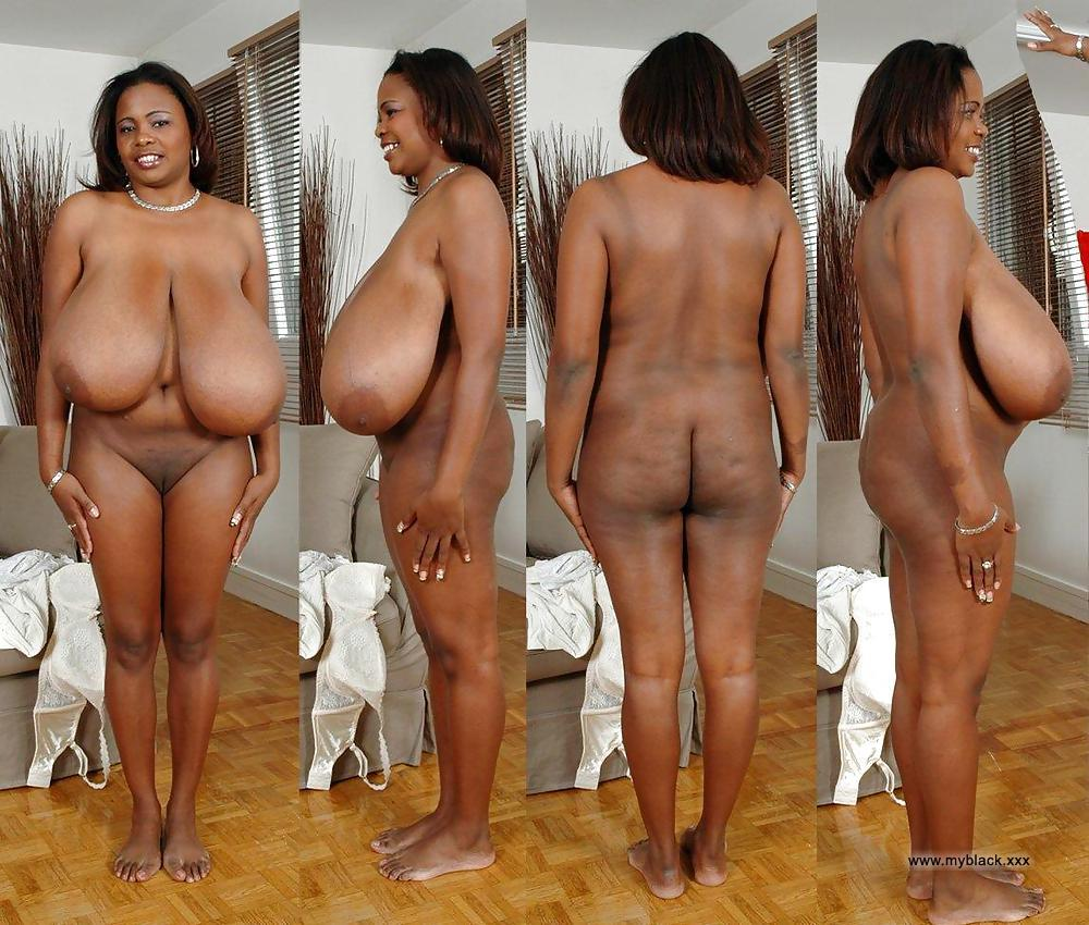 Black grandma naked