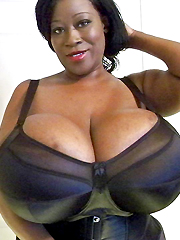 Incredibly huge black tits amateur pictures
